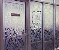 Sandblasted Glass